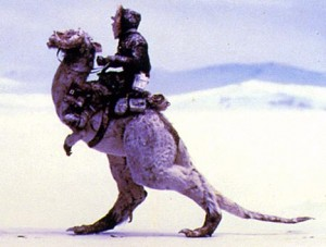 """Your tauntaun will freeze!"" ""Then I'll see you in hell!"""